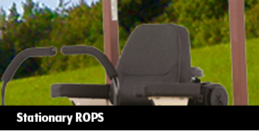 Stationary ROPS